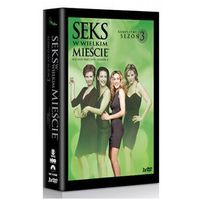 Seks w wielkim mieście - sezon 3 (DVD) - Michael Patrick King, Darren Star (5903570142055)