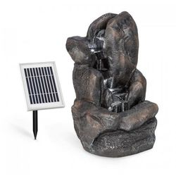 Blumfeldt felsquell solarna fontanna kaskadowa akumulator 2 kw panel słoneczny 3 diody led