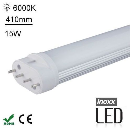 INOXX OL2G11 6000K 15W Świetlówka LED 2G11 4pin Zimna 15W 410mm 6000K