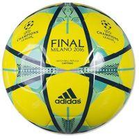 Piłka nożna  finale milano capitano ac5492 5 - żółty marki Adidas