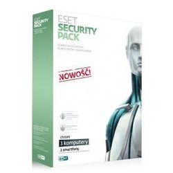 ESET Security Pack - 3 PC i 3 smartfony przedłużenie licencji o 1 rok