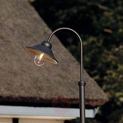 Piękna latarnia VEGA 1-punktowa, czarny matowy (7318305597501)