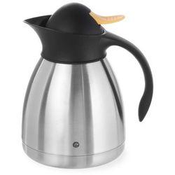 Termos do herbaty z żółtym przyciskiem, 1 l   , 446522 marki Hendi