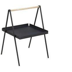 ACTONA stolik kawowy SLOP czarny - metal, drewno (5900000049434)