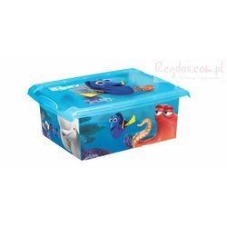 Pudełko 10L Gdzie jest Dory - Nemo 2729 pojemnik na zabawki - sprawdź w wybranym sklepie