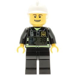 9003844 - ZEGAR - STRAŻAK (Lego City Fireman Minifigure Clock), 9003844