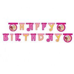 Baner urodzinowy Happy Birthday Mia i Ja - 180 x 15,5 cm - 1 szt. (5201184824894)