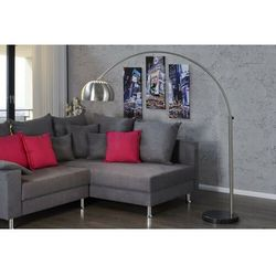 Sofa.pl Invicta lampa podłogowa slack chromowana - 170-210 cm