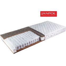 Janpol erebu - materac kieszeniowy, sprężynowy, rozmiar - 140x190, pokrowiec - jersey standard wyprzedaż, w
