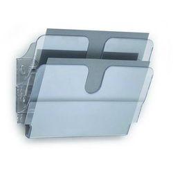 FLEXIPLUS A4 2 poziome pojemniki na dokumenty, przezroczyste, Durable, 1709014400