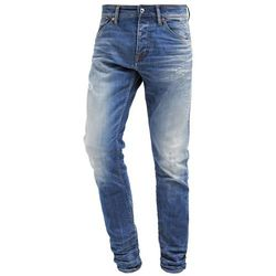 K.O.I KINGS OF INDIGO CHARLES Jeansy Slim fit mid blue lasered