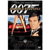 James Bond ekskluzywna edycja 2-płytowa: 007 Tylko dla twoich oczu (DVD) - John Glen