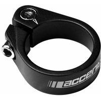 Accent 610-00-23_acc obejma ze śrubą imbusową  light 31.8mm, czarna piaskowana (5906948860797)