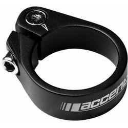 610-00-23_acc obejma ze śrubą imbusową  light 31.8mm, czarna piaskowana od producenta Accent