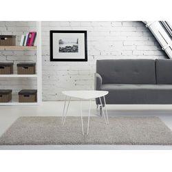 Beliani Nowoczesny stolik kawowy 60x45 cm - ława - stół, biały - lily