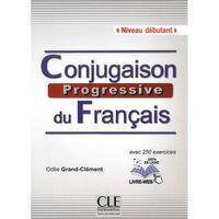 Conjugaison Progressive du Francais Debutant. Podręcznik + Kod + CD (9782090381528)