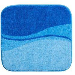 dywanik łazienkowy flash, niebieski, 55x60cm marki Grund