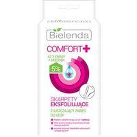 comfort+ skarpetki złuszczające zapewniające wygładzenie i nawilżenie stóp 2 x 20 ml marki Bielenda