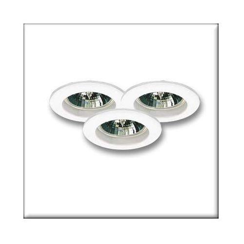 Oprawy wbudowywane ZN-AL, 3 szt., białe, 35mm, 3x35W, produkt marki Paulmann