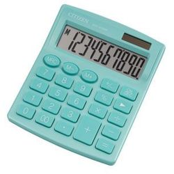 Kalkulator biurowy CITIZEN SDC-810NRGRE, 10-cyfrowy, 127x105mm, zielony (4560196212558)