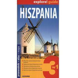 Hiszpania 3w1 - przewodnik + atlas + mapa laminowana, pozycja wydawnicza