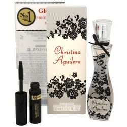 Christina Aguilera Christina Aguilera, Zestaw podarunkowy, woda perfumowana 30ml + mascara