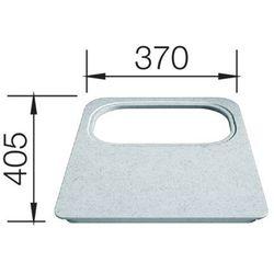 Blanco Deska z tworzywa biała z wycięciem na odsączarkę 405x370 mm (4020684391566)