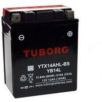 Akumulator Tuborg YTX14AHL-BS 12.6Ah 210A AGM YB14L-A2/B2, 12N14-3A