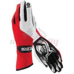 Rękawice  force rg-5 - czerwono / biały wyprodukowany przez Sparco