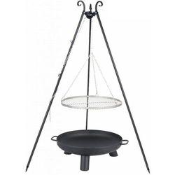 Grill ogrodowy FARMCOOK Ruszt Stal nierdzewna 70 cm + Palenisko PAN 37 80 cm