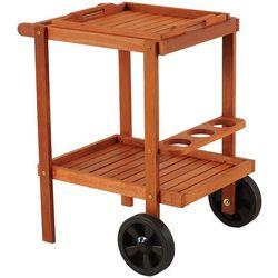 Barek ogrodowy drewniany home&garden meranti + darmowy transport! marki Home & garden