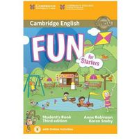 Fun for Starters Student's Book with Audio with Online Activities (9781107444706)