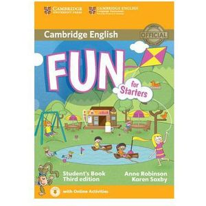 Fun for Starters Student's Book with Audio with Online Activities, Cambridge University Press