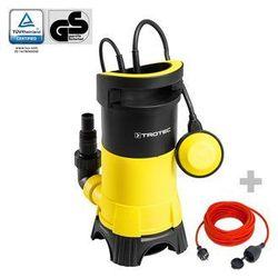Trotec Pompa zanurzeniowa do wody brudnej twp 7025 e + przedłużacz jakościowy 15 m / 230 v / 1,5 mm²