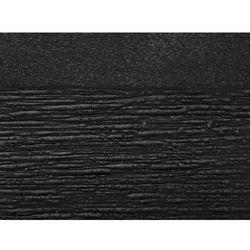 Beliani Doniczka czarna kwadratowa 30 x 30 x 28 cm paros