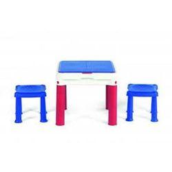 Stolik KETER z dwoma stołkami dla dzieci Niebiesko/Czerwono/Biały + DARMOWY TRANSPORT! (7290106929593)