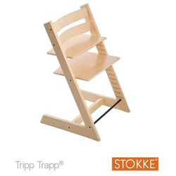 Stokke® Krzesełko Tripp Trapp® Natural - produkt z kategorii- Krzesła i stoliki