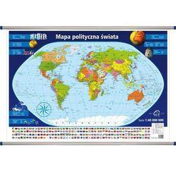 Świat polityczny mapa ścienna 1: 40 000 000 (mapa szkolna) od SELKAR
