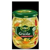Sałatka grecka z ogórkiem i papryką 500 g Smak
