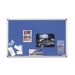 Magnetoplan Tablica tekstylna sp niebieska alu 1500x1000 mm