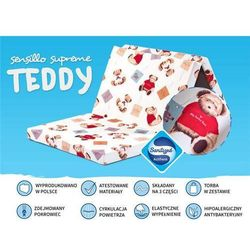 Materacyk turystyczny Supreme Teddy 120x60 cm