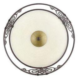 Eglo 86711 - lampa plafon kinkiet mestre 1x e27/60w antyczny brąz / złoty (9002759867119)