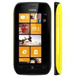 lumia 710 8gb żółta - żółty \ 2 lata na terenie całego kraju + polskie menu + bez sim locka od producen