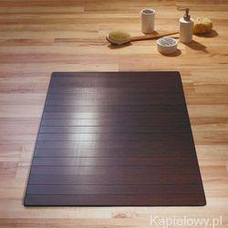 JUNGLE Dywanik łazienkowy 60x90cm bambus ciemny 7953338 - produkt z kategorii- Dywaniki łazienkowe