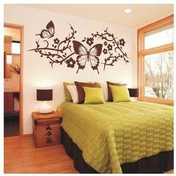 Deco-strefa – dekoracje w dobrym stylu Kwiaty motyl 902 szablon malarski