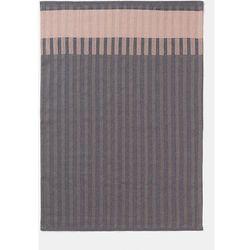 Ferm living Ręcznik kuchenny grain różowy