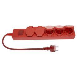przedłużacz bryzgoszczelny z wyłącznikiem 5gn 3m (pw-503w) - rabaty za ilości. szybka wysyłka. profesjonalna pomoc techniczna. marki Elgotech