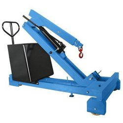 Żuraw z przeciwwagą, nośność maks. 350 kg, pompa hydrauliczna o działaniu podwój marki Unbekannt
