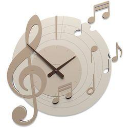 Zegar ścienny Bellini CalleaDesign caffelatte