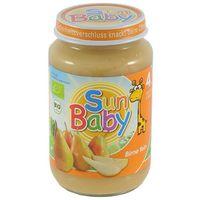 4 mc deser gruszka bezglutenowy bio 190 g - sun baby marki Babysun